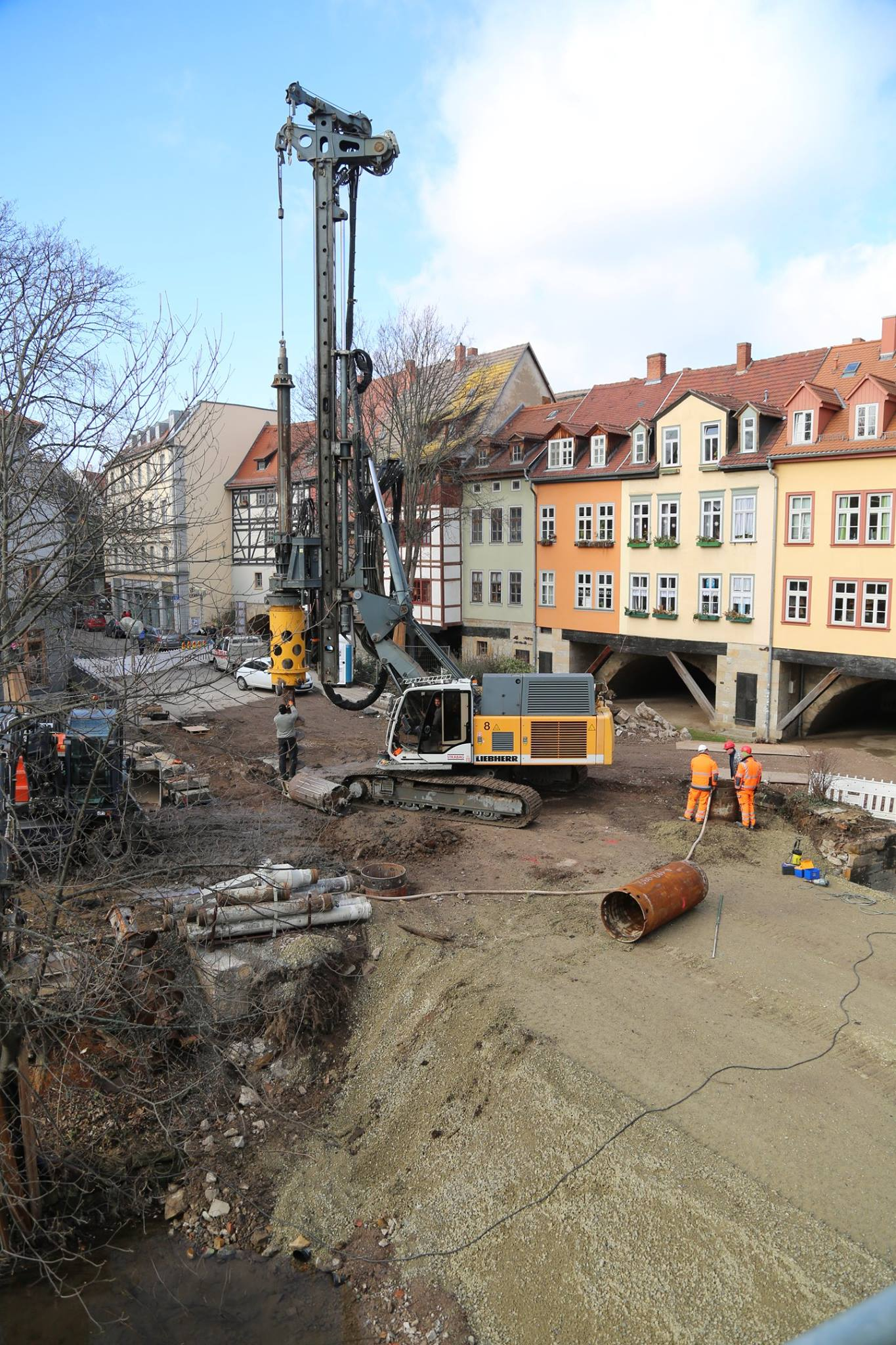 Neubau Rathausbrücke Erfurt