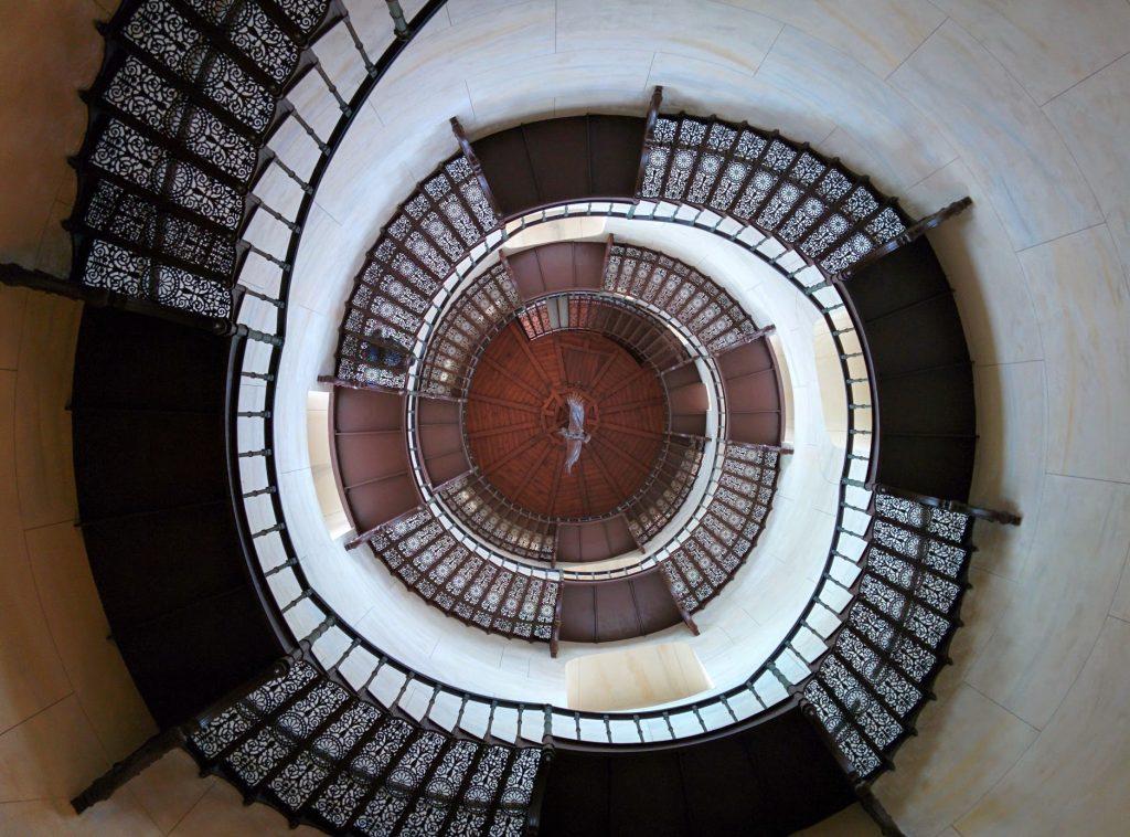Treppen im Jagdschloss Granitz