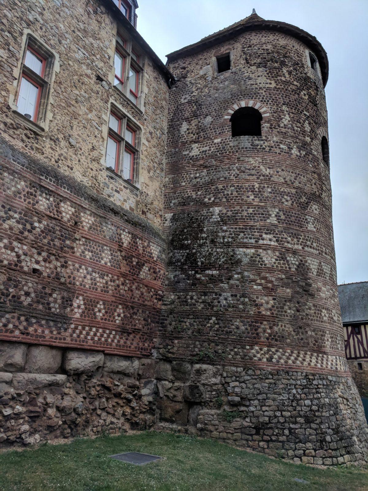 Römische Stadtmauer Le Mans